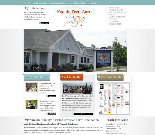 Peach Tree Acres – Brain Injury Assisted Living in Harbeson, DE